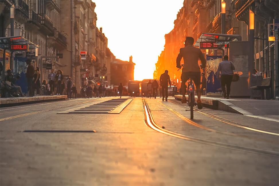 photo tram Bordeaux